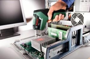 Temperaturmessung am PC-Kühlkörper